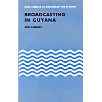 Cover of Broadcasting in Guyana book